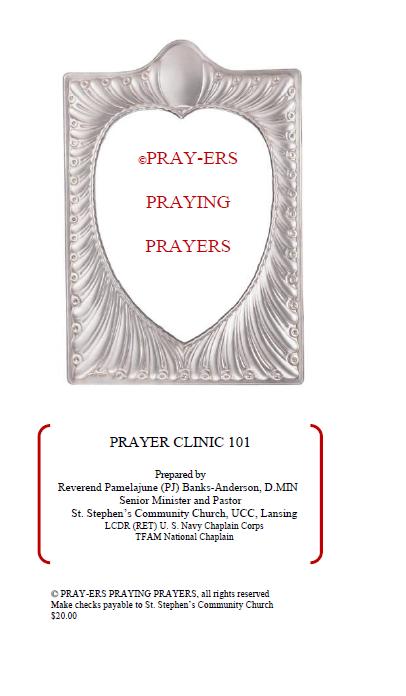 PRAY-ERS PRAYING PRAYERS COVER